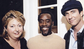 Don Cheadle and Michelle Danner
