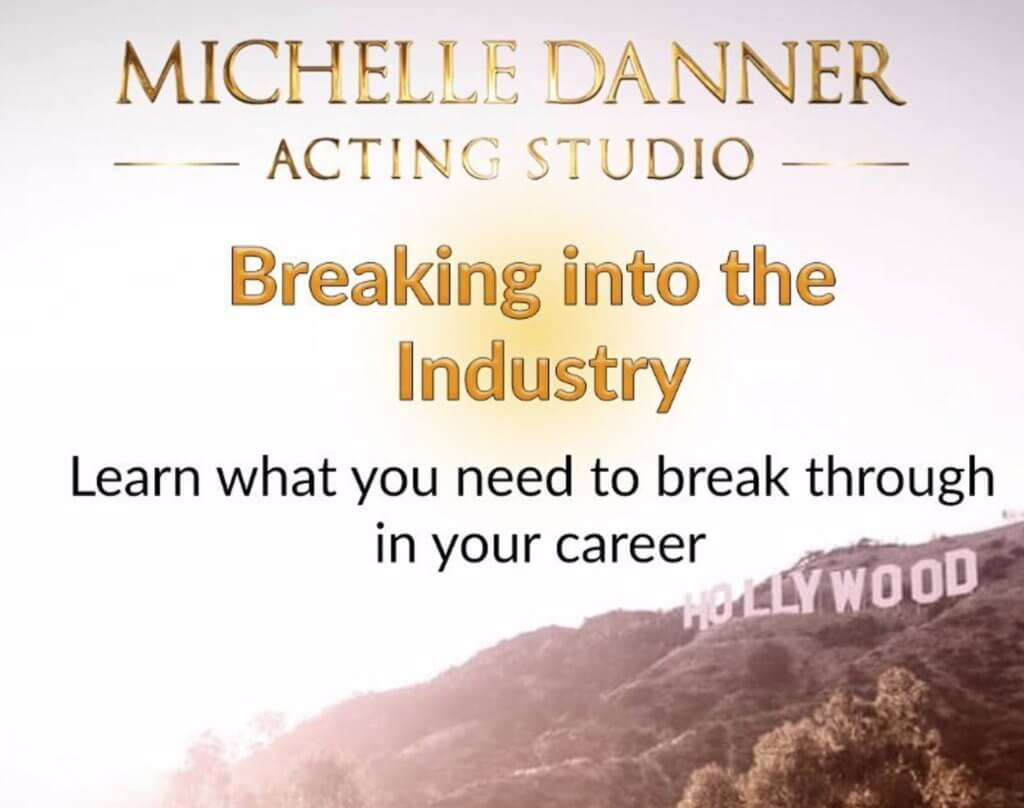 Breaking into the industry