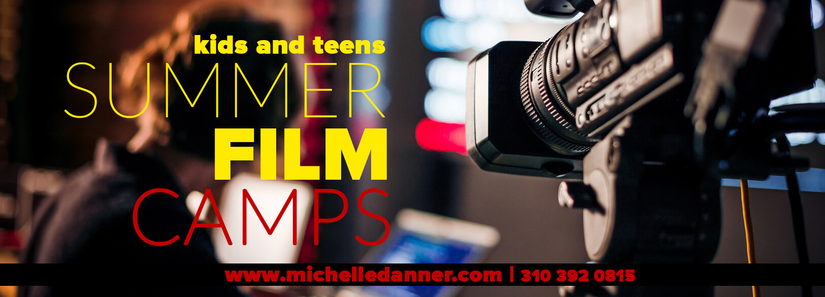 Kids summer film camps with info