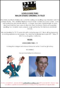 Casting Call: TV Pilot